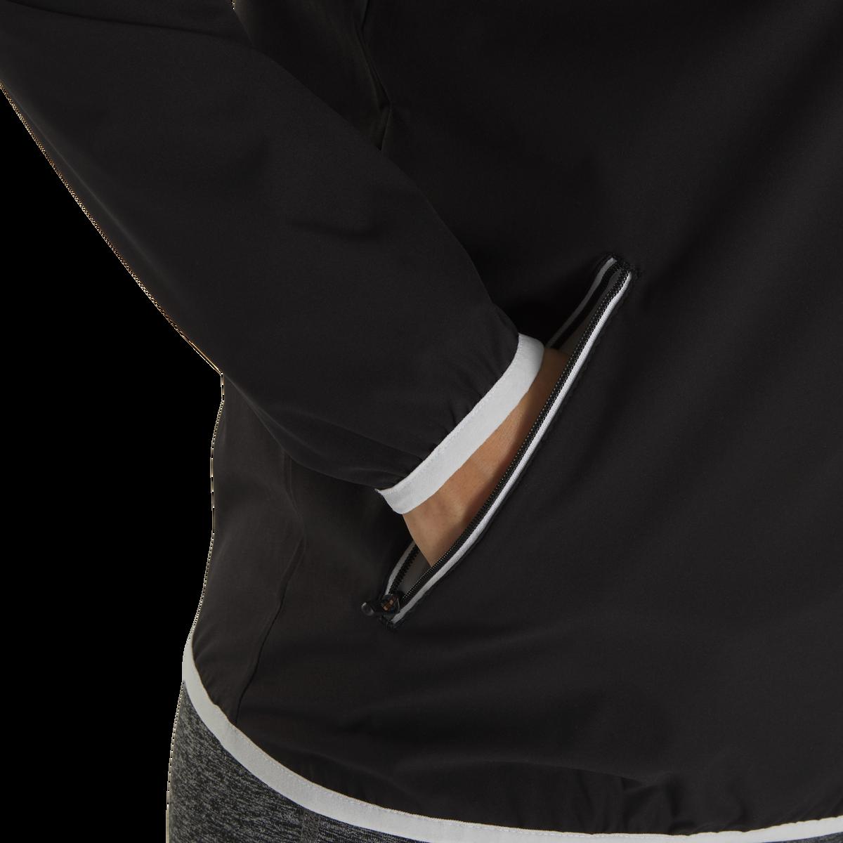 Half-Zip Woven Wind Jacket Women