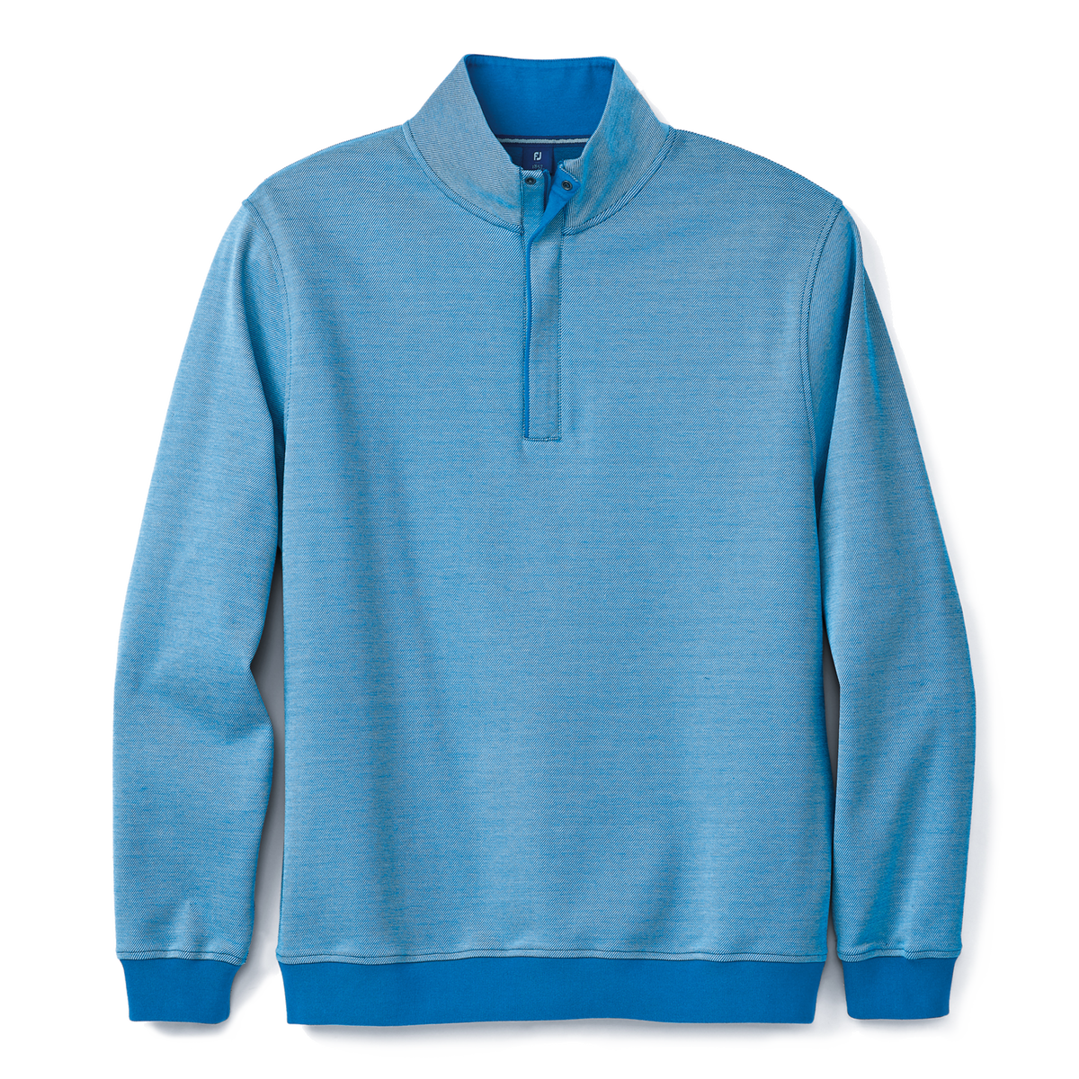 Twill Jacquard Quarter-Zip-Previous Season Style