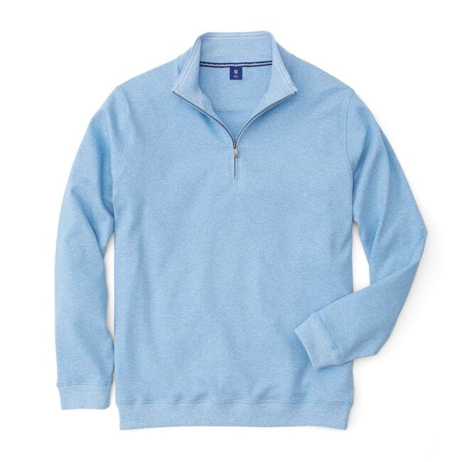 Interlock Quarter-Zip Pullover