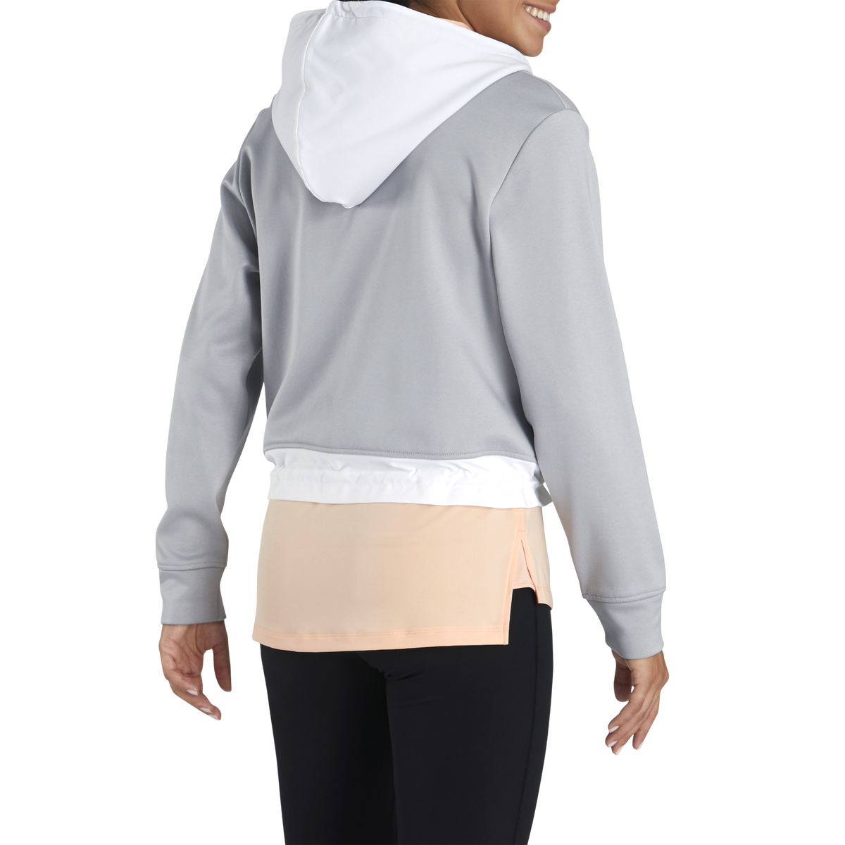 Cropped Fleece Hoodie Women