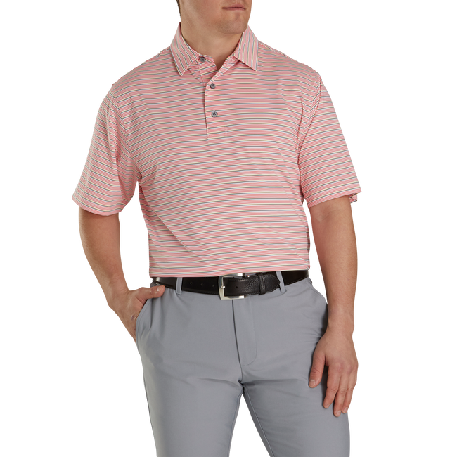 Lisle Multi Stripe Self Collar-Previous Season Style