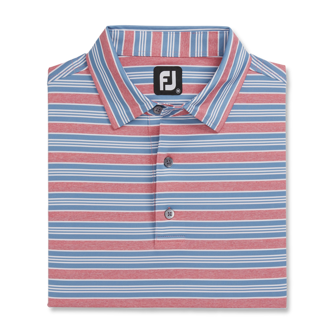 Lisle Traditional Stripe Self Collar