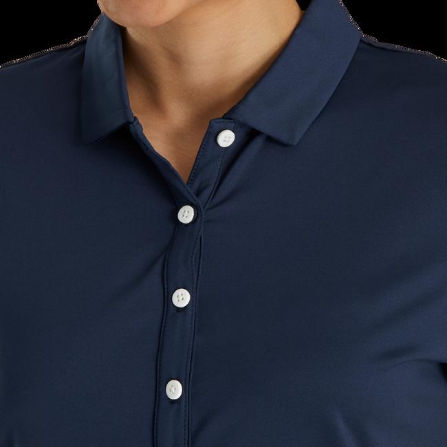 Solid Lisle Self Collar Women