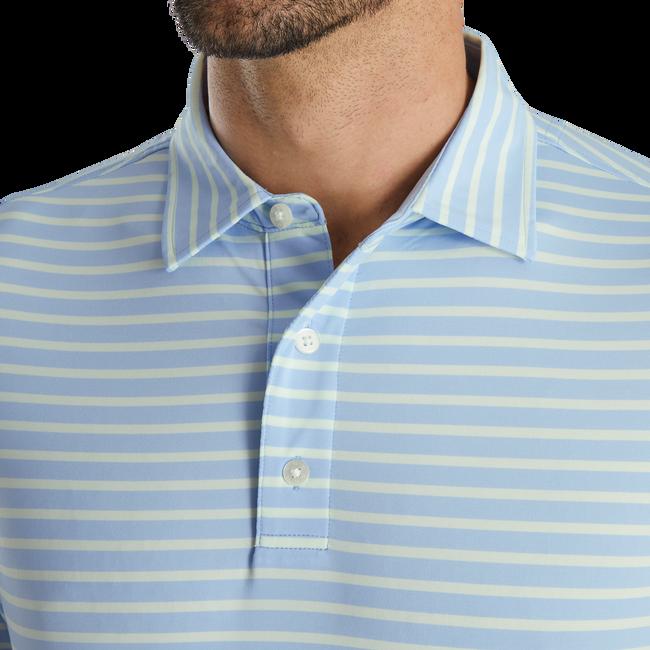 Lisle 2 Color Stripe Self Collar