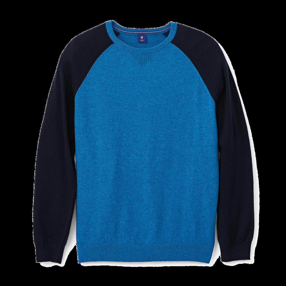 Raglan Block Sweater