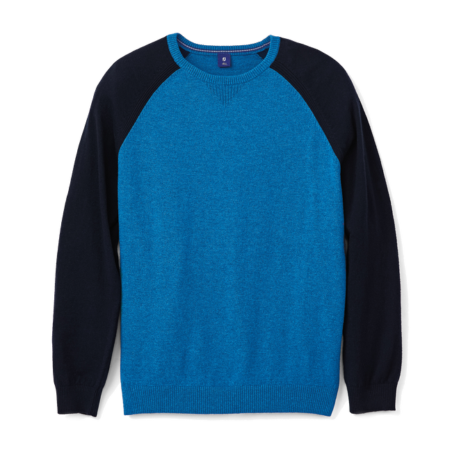 Raglan Block Sweater