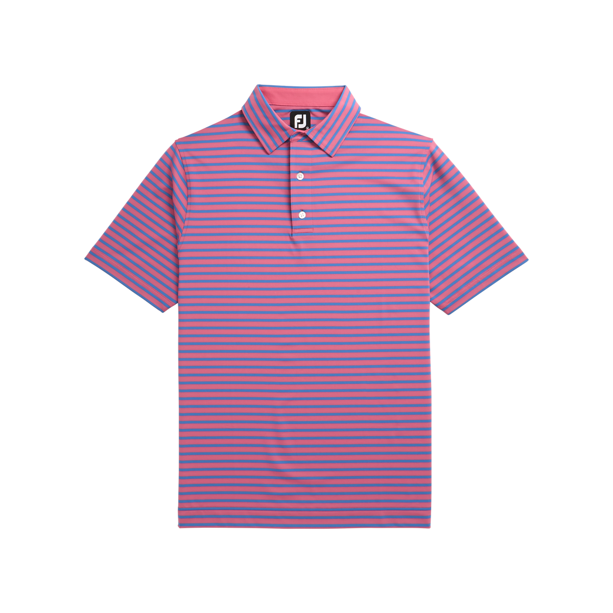 Lisle 2-Color Stripe Self Collar