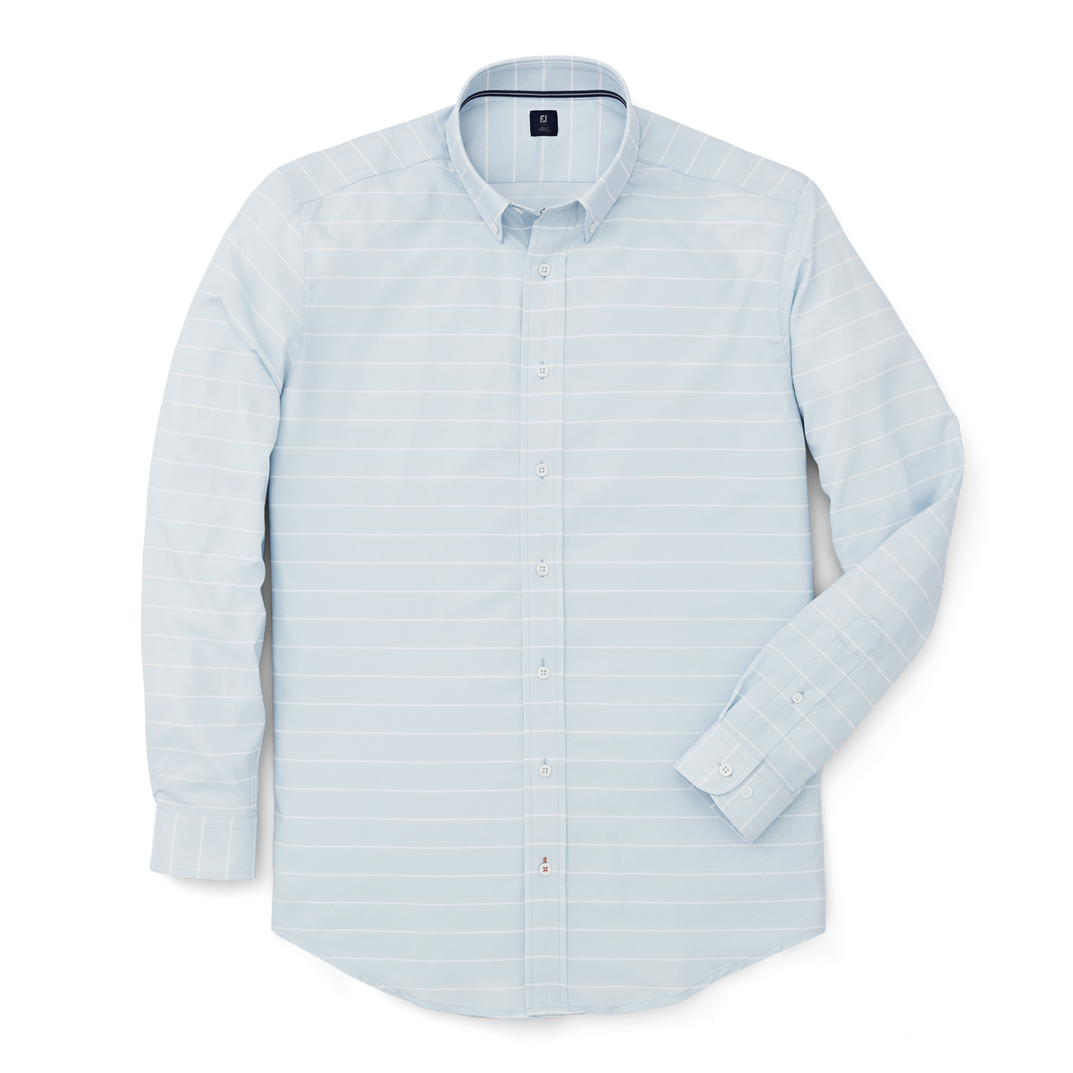 Stretch Twill Woven Stripe Shirt