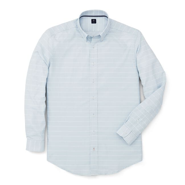 Stretch Twill Woven Stripe Shirt