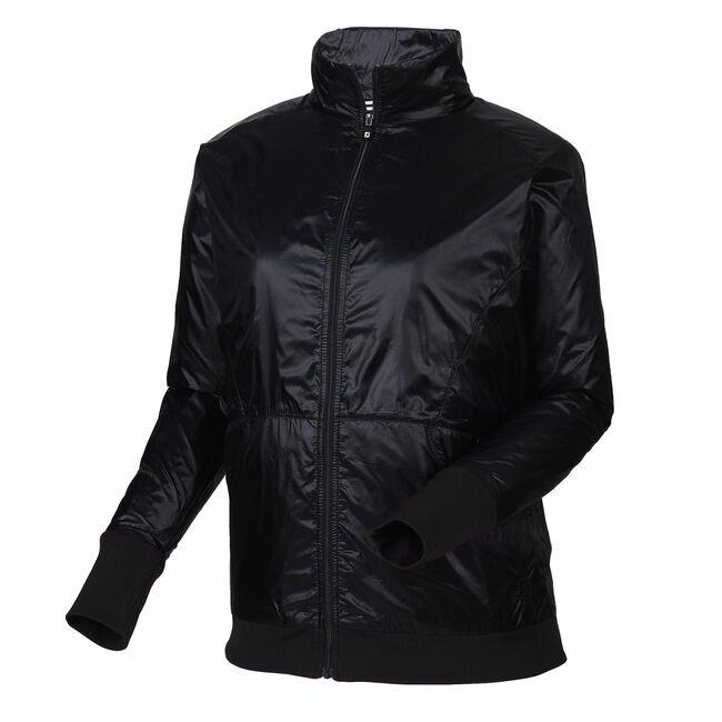Full-Zip Knit Trim Jacket Women