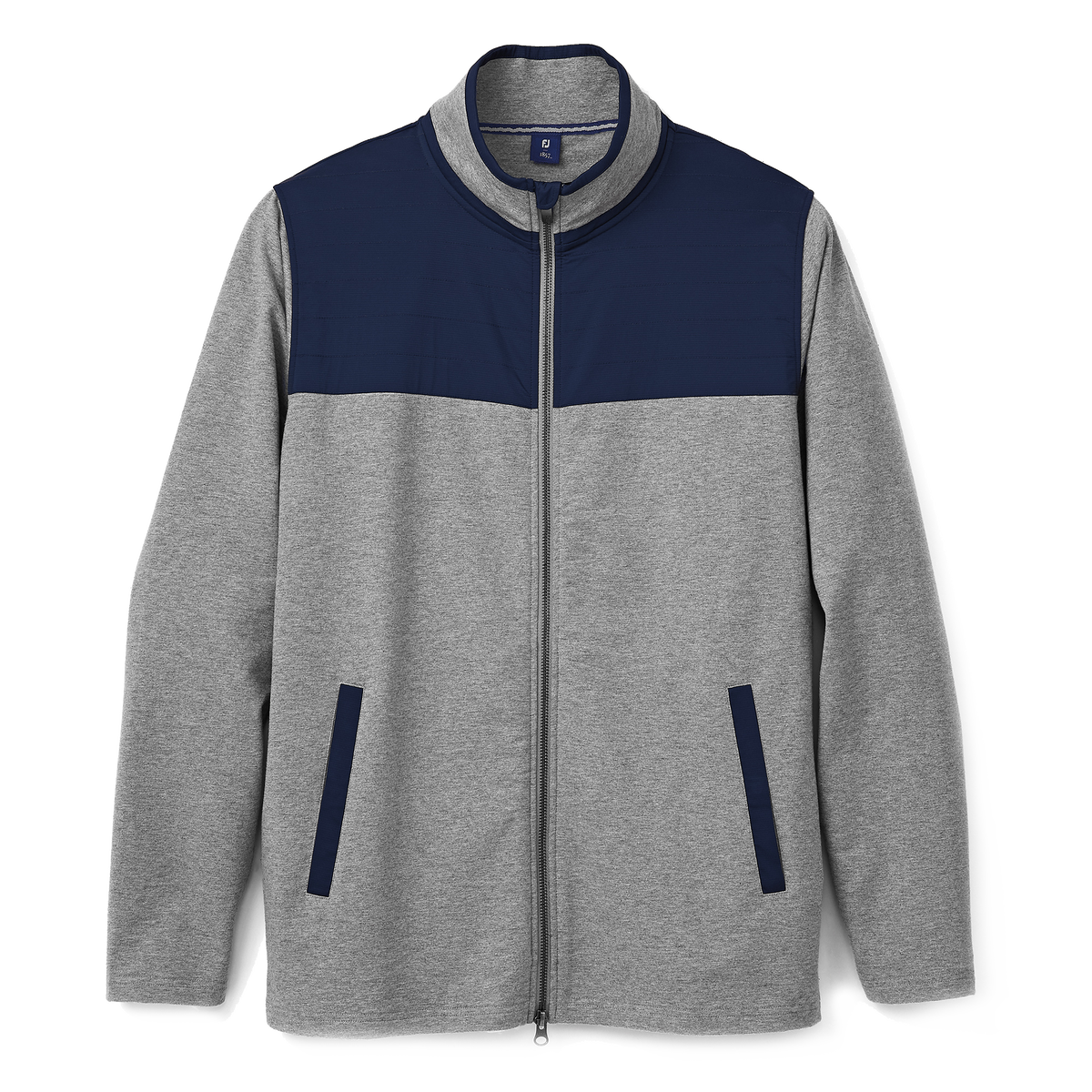 Brushed Back Jersey Full-Zip