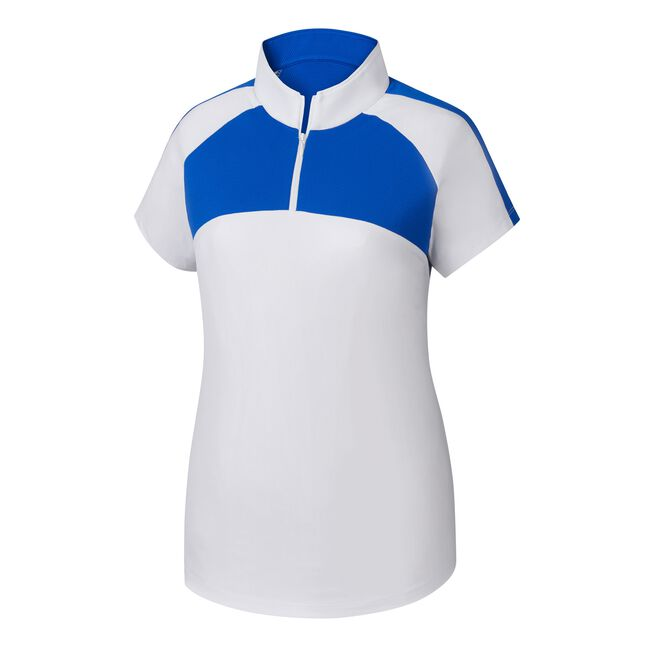 Jersey Mesh Raglan Sleeve Shirt Women