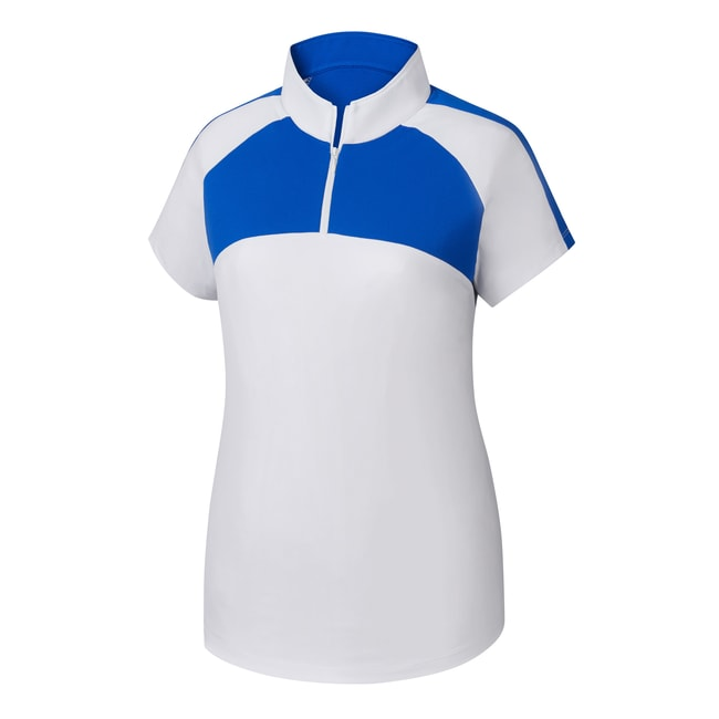 Jersey Mesh Raglan Sleeve Shirt Women-Previous Season Style