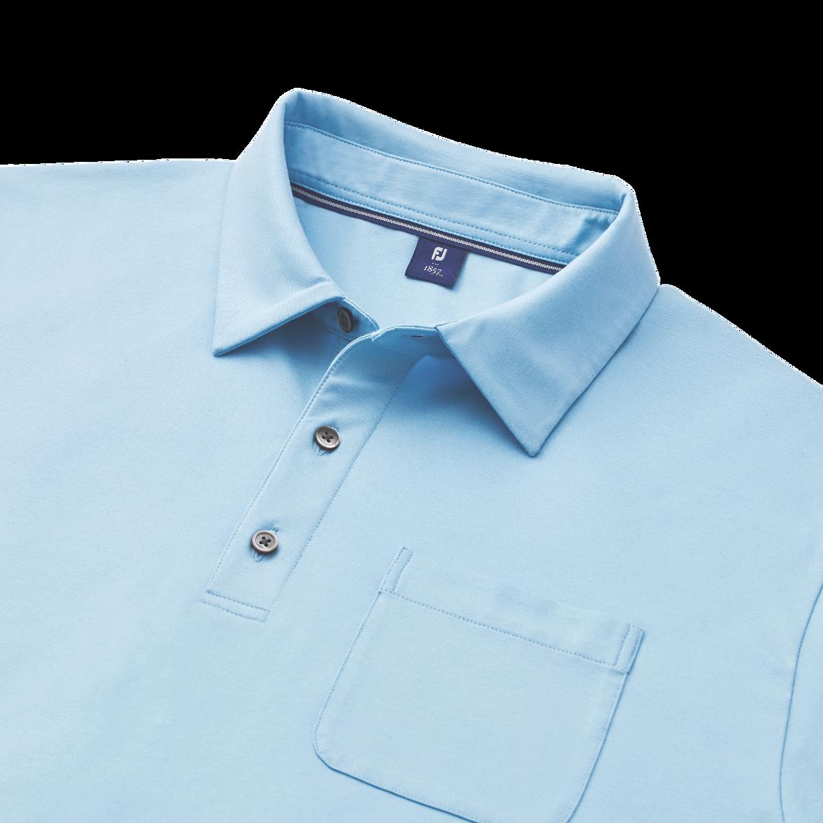 Supima Cotton Knit Shirt with Pocket