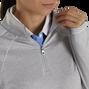 Jersey Knit Quarter-Zip Mid-Layer Women