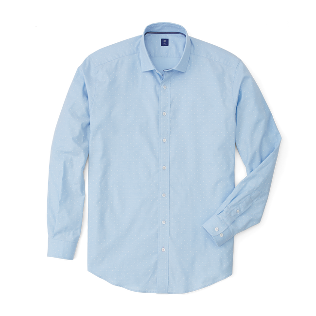 Oxford Shirt with Overprint-Previous Season Style