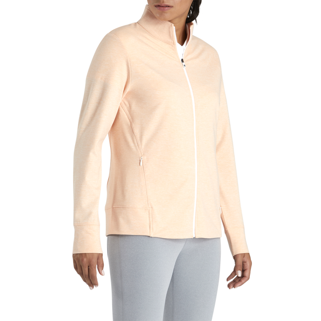 Full-Zip Panel Pocket Mid-Layer Women-Previous Season Style