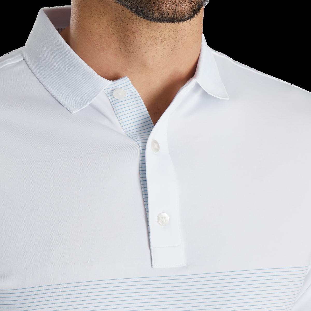 Lisle Engineered Pin Stripe Self Collar