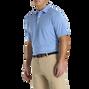 Lisle 2-Color Stripe Self Collar