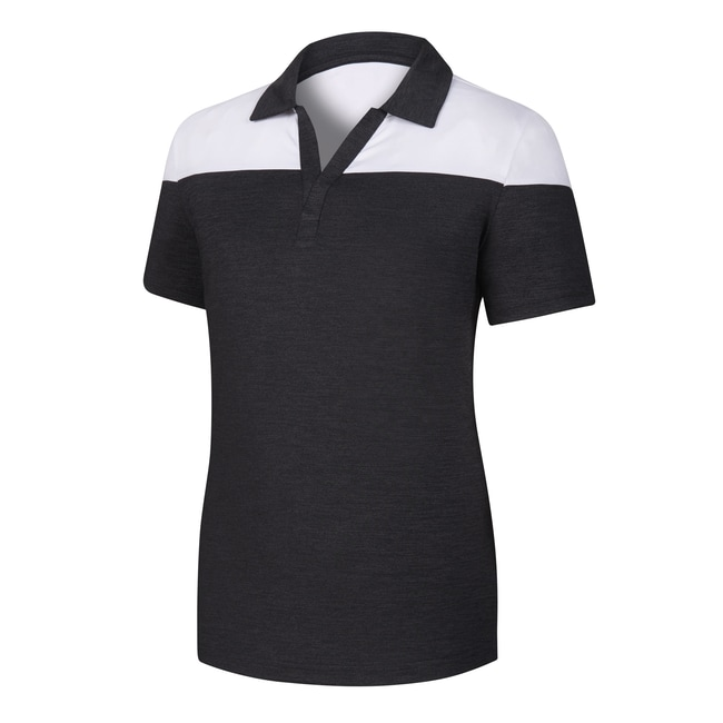 Lisle V-Neck Short Sleeve Women-Previous Season Style