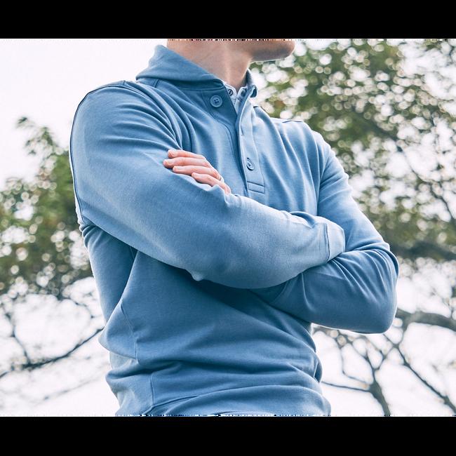 Coastal Collection Shawl Collar Sweatshirt