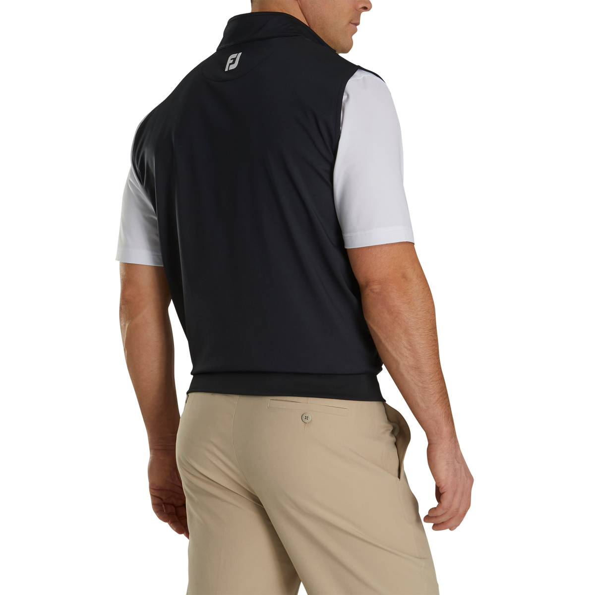 Jersey Vest Pullover