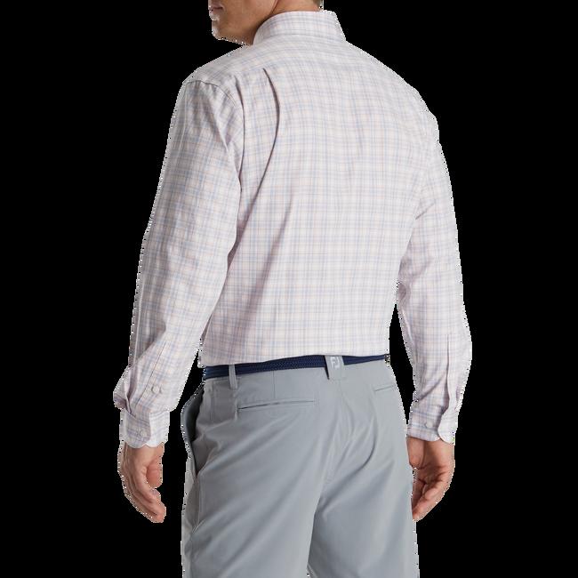 Open Check Stretch Cotton