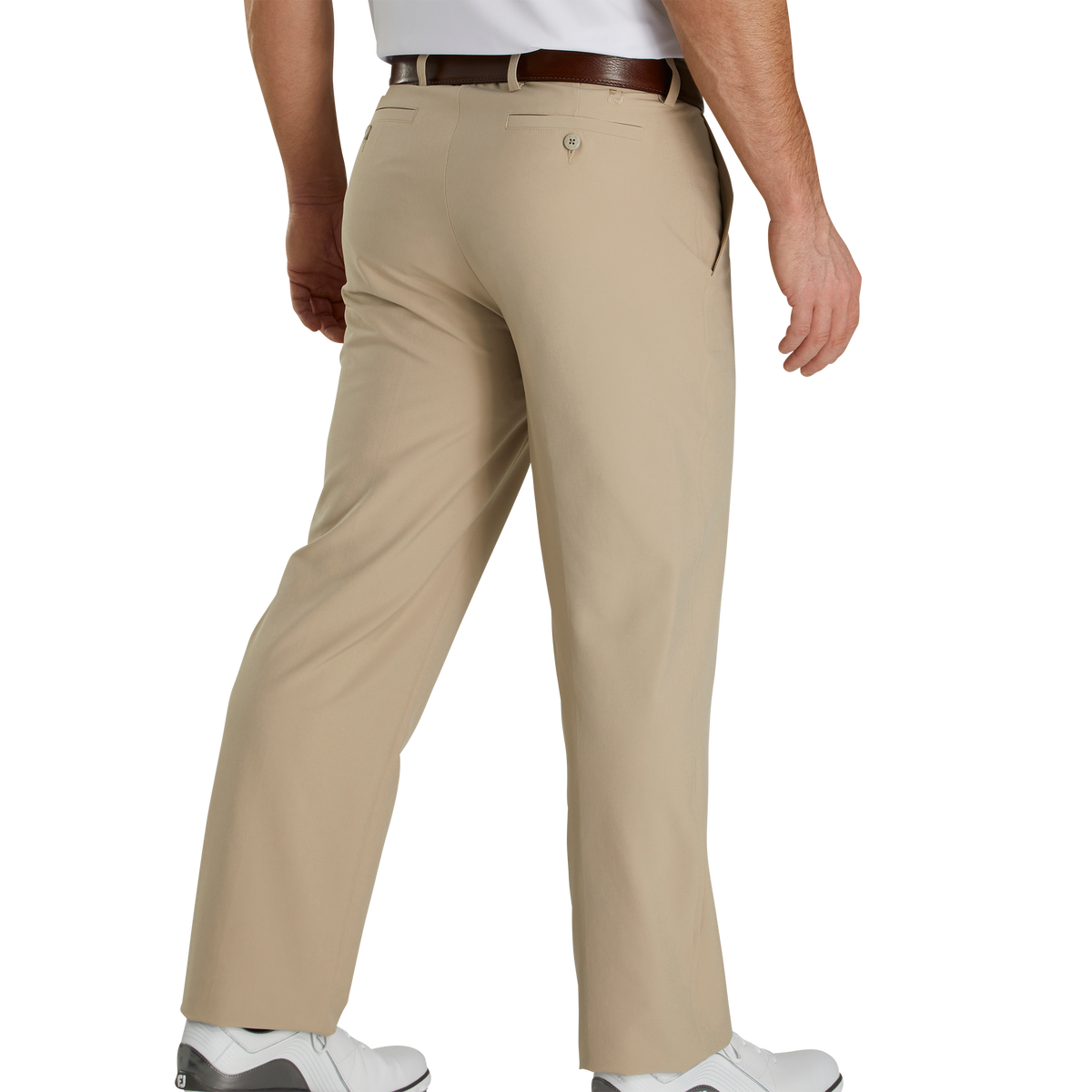 Casual-Pants Hombre Essentials Straight-fit Lightweight Stretch Pant