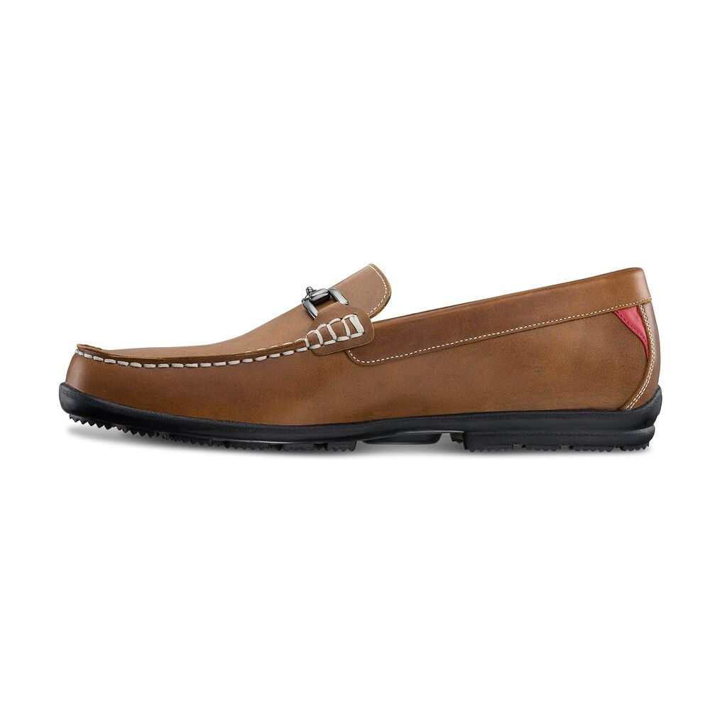 ce0c8823ec0 Club Casuals Buckle Loafer Golf Shoes