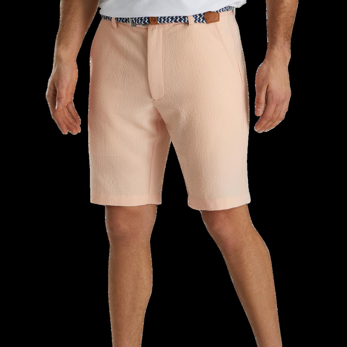 Limited Edition Seersucker 10 Inch Inseam Shorts