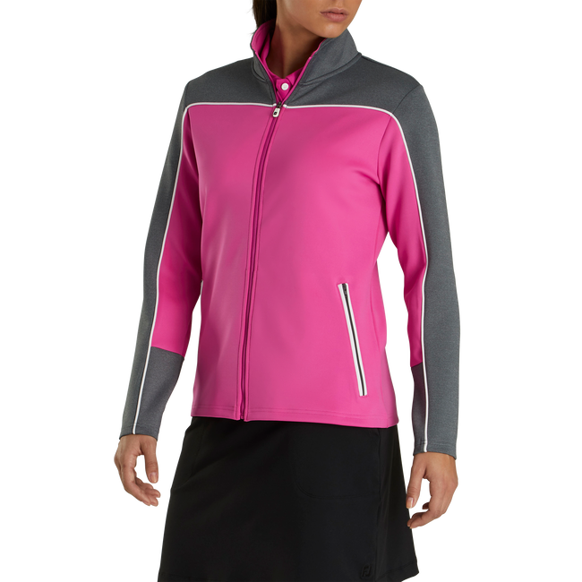 Jersey Full-Zip Mid-Layer Women