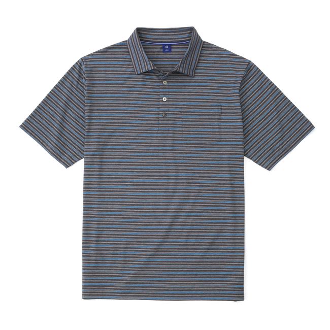 Lisle Vintage Stripe with Pocket Shirt-Previous Season Style