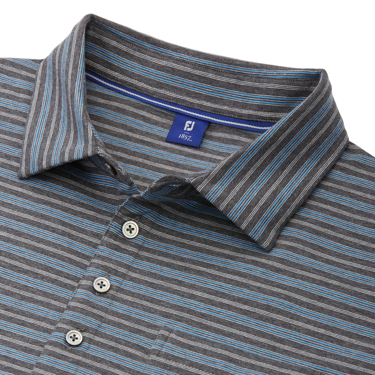 Lisle Vintage Stripe with Pocket Shirt