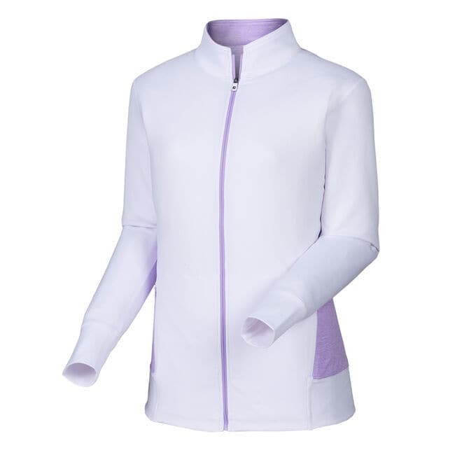 Full-Zip Panel Pocket Mid Layer Women