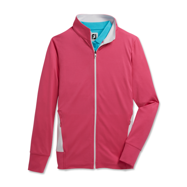 Full-Zip Panel Pocket Mid-Layer Women