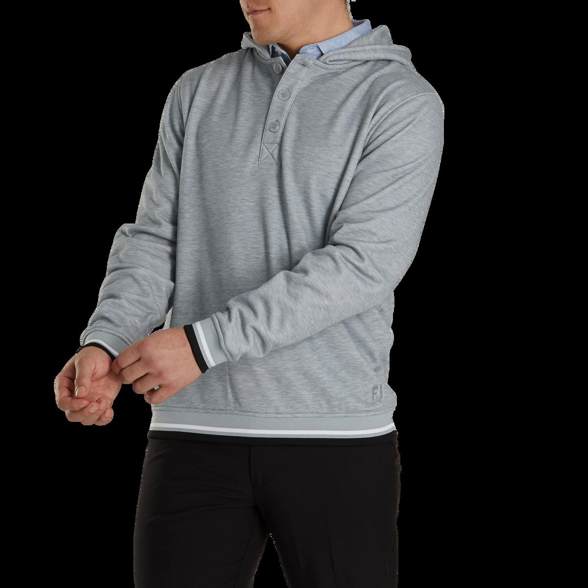 Jersey Fleece Backed Hoodie-Previous Season Style