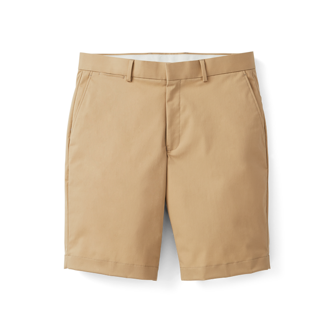 Stretch Cotton Shorts-Previous Season Style