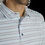 Lisle Traditional Stripe Self Collar