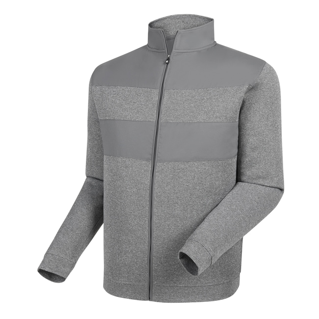 Flat Back Rib Full-Zip Mid Layer-Previous Season Style