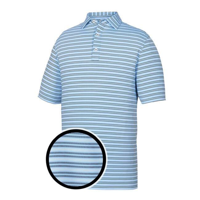 Athletic Fit Lisle Pinstripe Self Collar-Previous Season Style