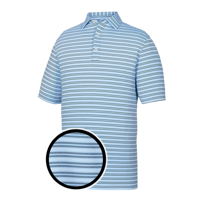 Athletic Fit Lisle Pinstripe Self Collar-Previous Season Style