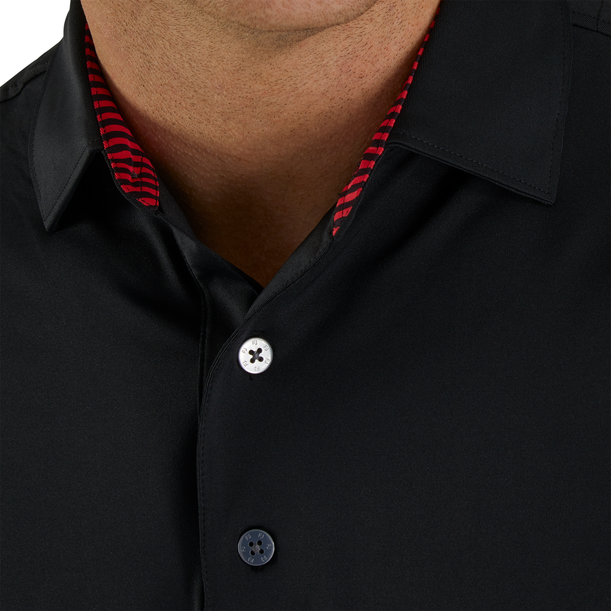 Solid Lisle Self Collar