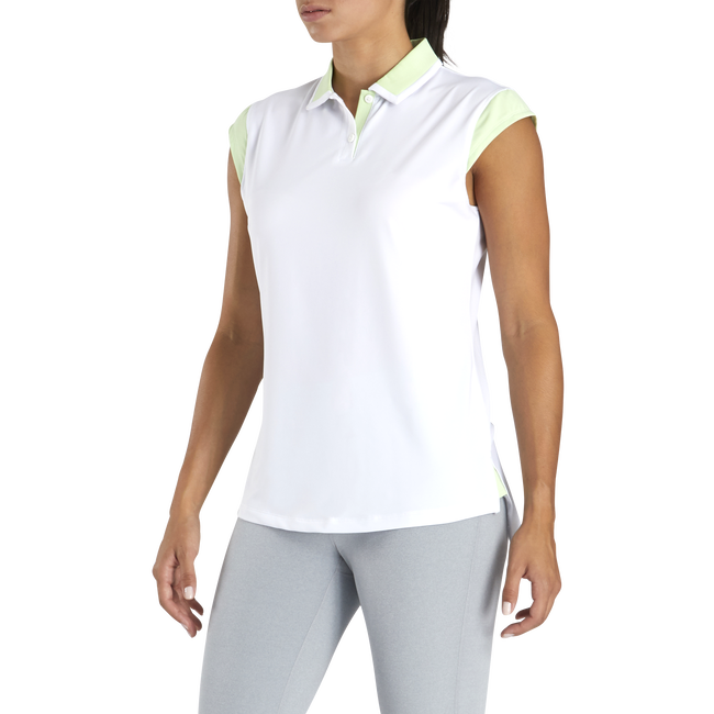 Birdseye Jersey Cap Sleeve Women-Previous Season Style