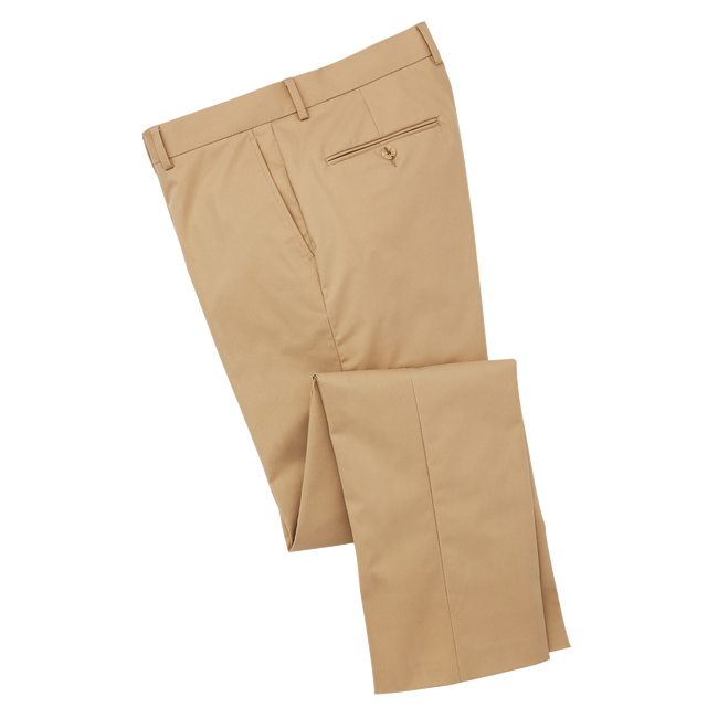 Stretch Cotton Pants-Previous Season Style