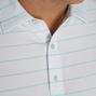 Lisle Double Pin Stripe Self Collar