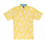 Lisle Pineapple Print Self Collar