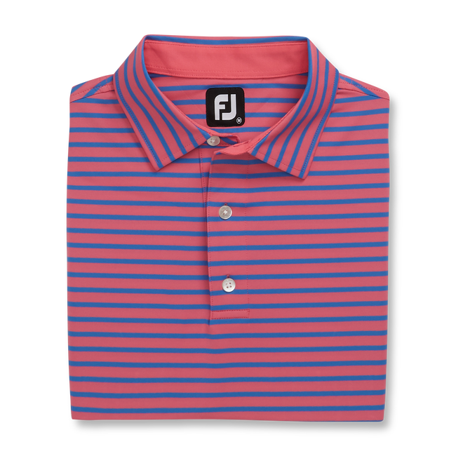 Lisle 2 Color Stripe Self Collar