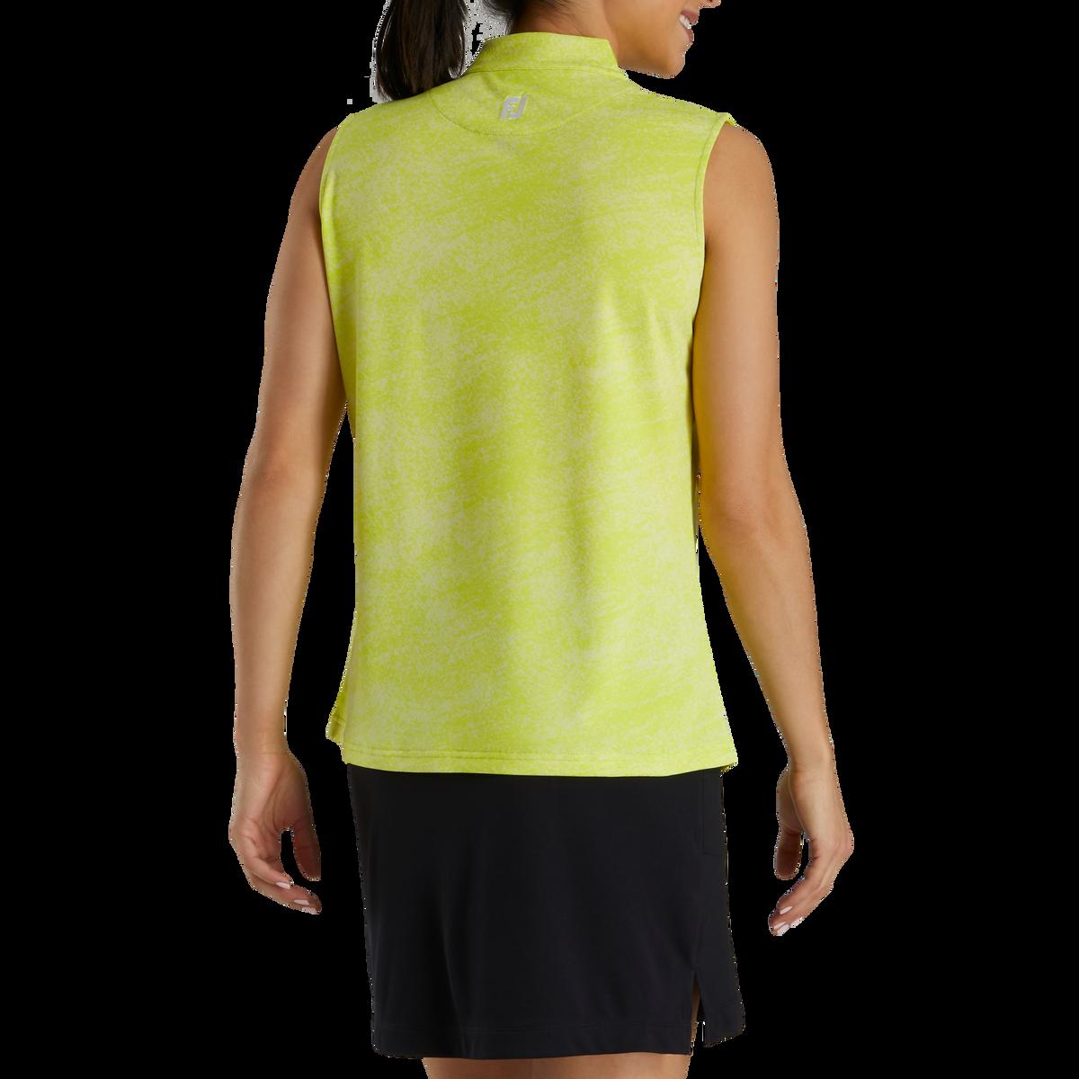 Sleeveless Jacquard Shirt Women