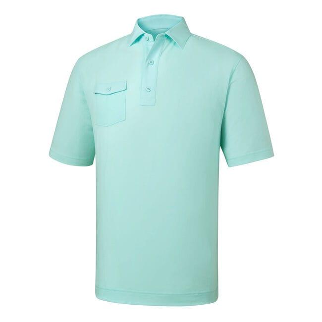 Athletic Fit Spun Poly Chest Pocket Self Collar-Previous Season Style