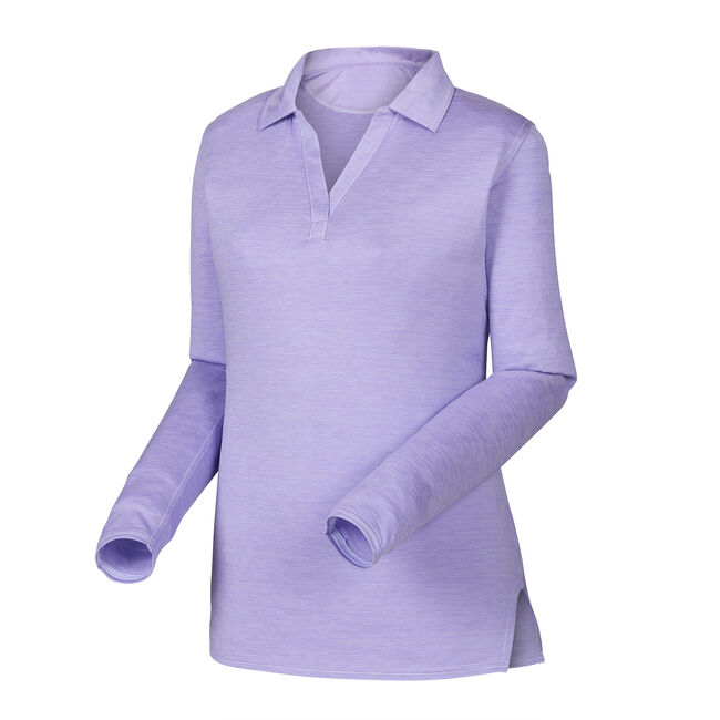 Space Dye Jersey Microstripe Shirt Women